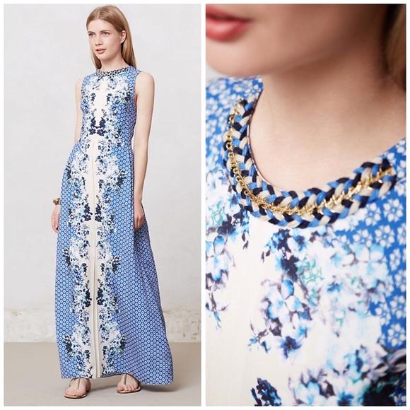 Anthropologie Dresses & Skirts - Anthropologie Ranna Gill Chameli Floral Maxi Dress